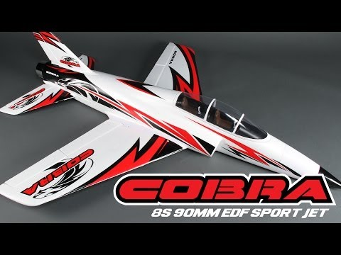 HobbyKing Product Video - Cobra 90mm 8s EDF Sports Jet