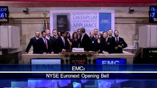 13 October 2010 EMC Corporation to Launch Data Computing Appliance at the NYSE