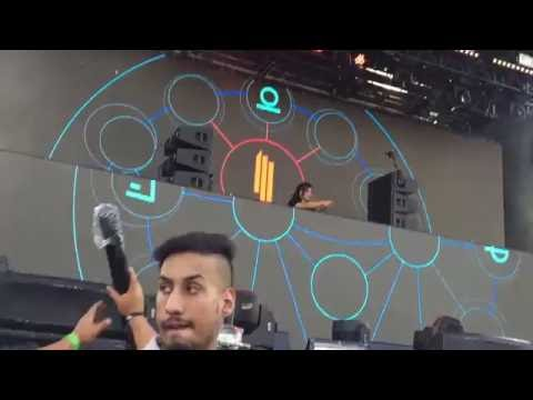 Skrillex and Getter live at Ever After Festival, June 3 2016 (Full HD Front Row)