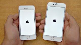 iPhone 7 vs iPhone SE - Speed Test! (4K)