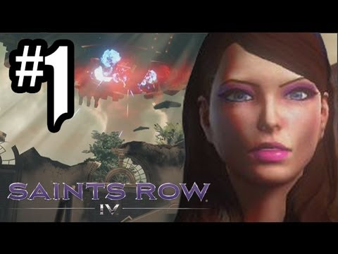 Saints Row 4 Gameplay Walkthrough – Part 1 – Intro & ALIENS!! (Xbox 360/PS3/PC HD) SR4 Gameplay