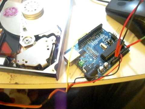 Hard Drive Bldc Arduino Demo Youtube