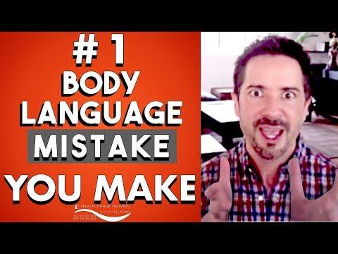 Body Language Secrets: The #1 Mistake People Make--Eye Contact Communication Skills Training Video