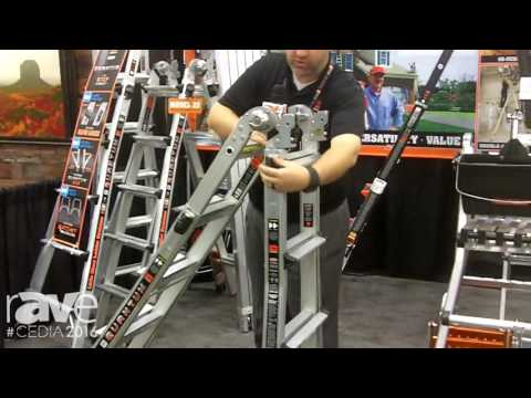 CEDIA 2016: Little Giant Ladders Shows Very Light Quantum Multi-Use Ladder