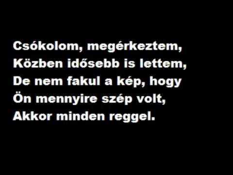 ByeAlex - Csókolom (lyrics)