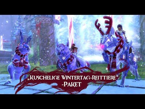 """Itemshop Watch - """"Kuschelige Wintertag-Reittiere""""-Paket [Alle 5 Tiere]"""