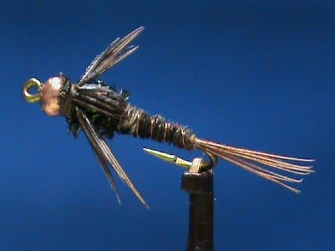 Fly Tying For Beginners A Beadhead Pheasant Tail With Jim ...