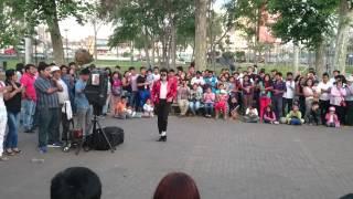 Michael Jackson peruano - The best moonwalk ever