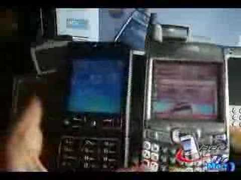 Video: Treo 700wx en México