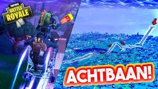 DE GEKSTE ACHTBAAN MAKEN IN PLAYGROUND!! - Fortnite Playground Met Don, Joost & Duncan (Nederlands)