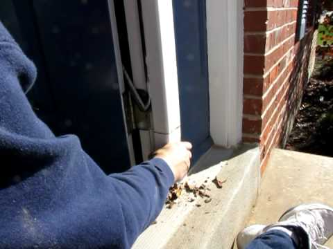 Replacement Front Door on Home Door Frame Repair Replacing Rotten Wood