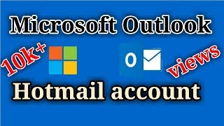 How to Create a Microsoft Outlook account Bangla Tutorial 2016   Hotmail account bangla tutorial