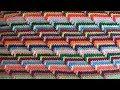 Рельефный узор крючком. Groovyghan. A relief pattern crocheted.