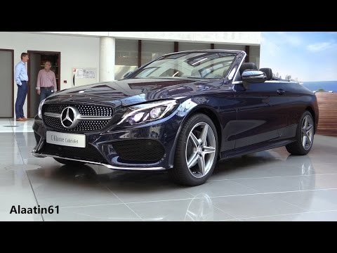 2017 Mercedes-Benz C Class Convertible / In Depth Review Interior Exterior