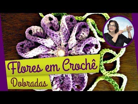 CROCHÊ FLORES 073 DOBRADA 1 = CORRETO
