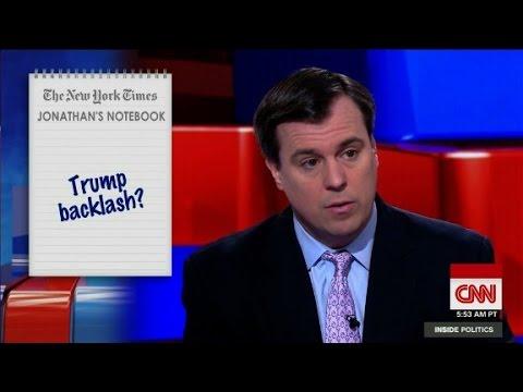 Trump GOP backlash?