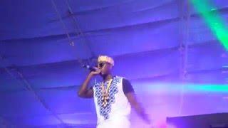 Flowking Stone n Bradez storms the Tigo Unplugged show with Machine gun flow