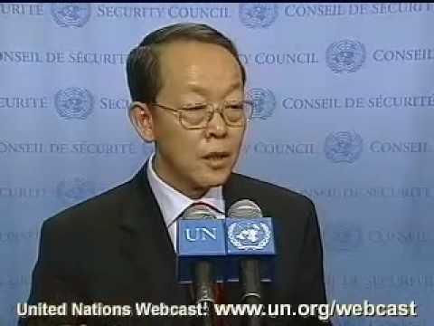 MaximsNewsNetwork: UN Amb. CHINA, WANG GUANGYA  on SUDAN 2007