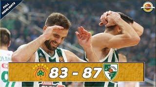 Panathinaikos OPAP Athens - Zalgiris Kaunas |83-87| ● Full Highlights ● Round 4