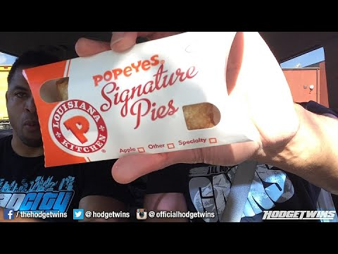 Popeyes Beer Can Fried Chicken Review @Hodgetwins