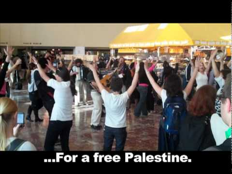 Move Over AIPAC Flashmob (D.C. Union Station)