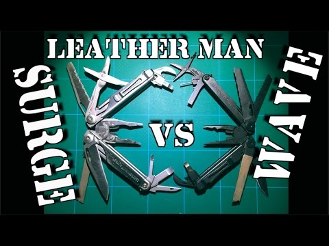 Leatherman Surge VS Wave: Multi-tool Comparison Review
