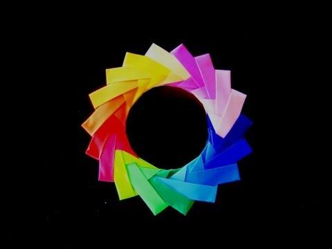 Модульное оригами кольцо по