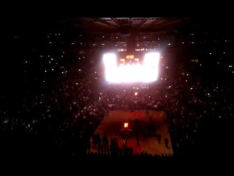 Knicks Introductions from 2/23/2011 game vs. Milwaukee Bucks.