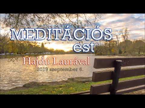 Meditáció Laurával 2019.09.06