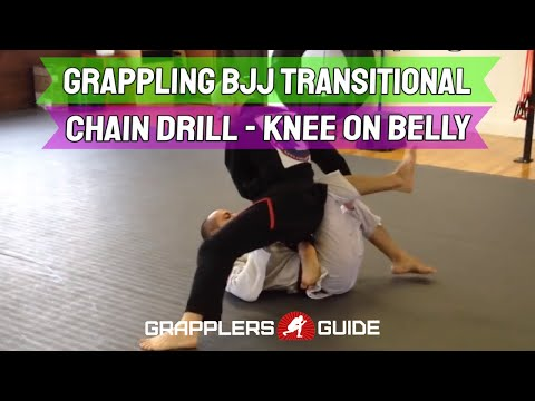 Grappling BJJ Transitional Chain Drill - Jason Scully Image 1