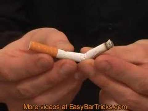 Cigarette Bar Trick