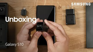 01. Unboxing Your Galaxy S10 | Samsung US