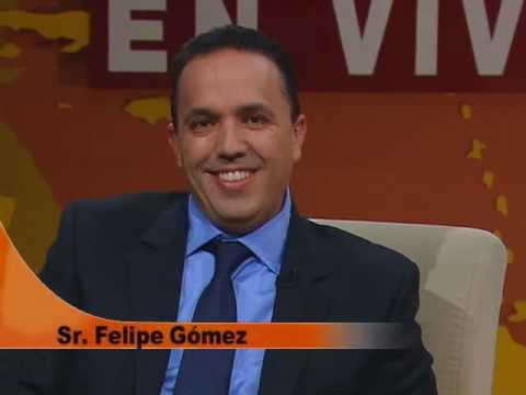 1 Parte Nuestra fe en vivo entrevista a Felipe Gomez