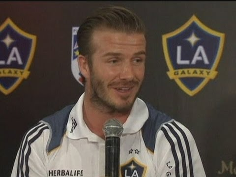 David Beckham hoping for Olympic glory