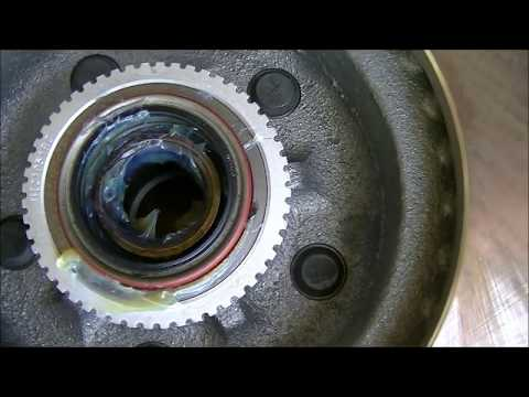 How to Replace Front Rotors and Bearings on a GMC Safari (2 wheel dr)