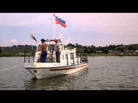 ГИМС Переславля патрулирует на Плещеевом озере