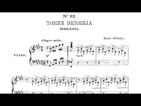 Исаак Альбенис - Piezas Caracteristicas Op 92 12 Torre Bermeja