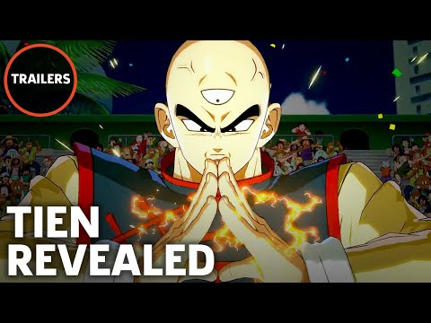 Dragon Ball FighterZ - Tien Reveal Trailer