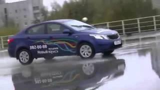 Парный тест-драйв нового KIA Rio и Hyundai Solaris