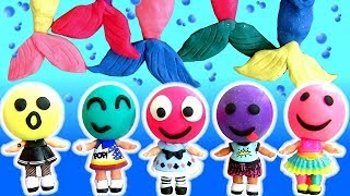 Abrindo Bonecas LOL Surpresa Mix Up Heads | Play Doh LOL Lil Outrageous Littles