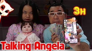 Chơi Talking Angela Lúc 3h Sáng Đổi Thứ Quý Nhất Lấy Tiền
