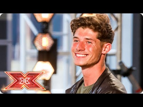 Sam Black takes us back with his 60s vibe |  Auditions Week 1 | The X Factor 2017