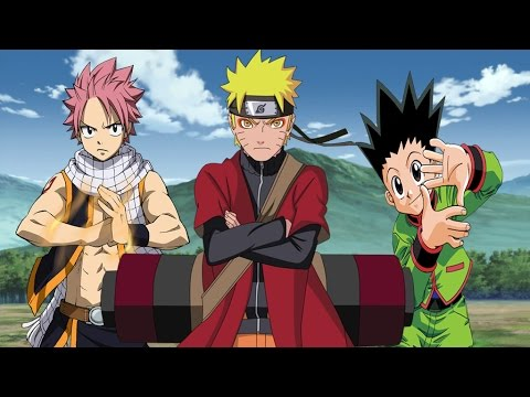 Naruto vs Natsu and Gon thumbnail