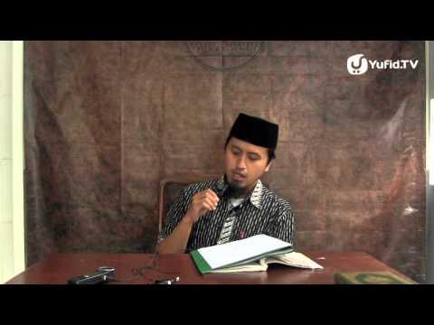 Kajiah Tauhid: Syarat-syarat La Illahailallah Bagian 5 - Ustadz Abdullah Zaen, MA