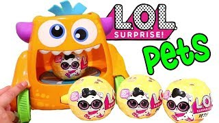 Silly Monster Machine ! Toys and Dolls Fun for Kids Opening LOL Pets Blind Bag Balls | SWTAD