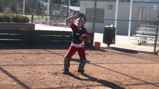 Kaylyn Yawn Softball Skills Video