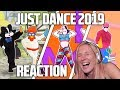 JUST DANCE 2019 TRAILERS REACTION New Rules Dua Lipa And Almost Die Laughing XD mp3
