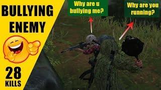 28 Kills Solo vs Squads - Trolling Last Enemy - Predator Pubg Mobile  Gameplay