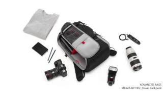 Manfrotto Advanced Bag Travel Backpack MB MA BP TRV