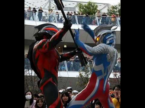 Ultraman Belial Vs Ultraman Zero Vs Mecha Zamushar video